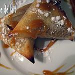recette Croustillants de pommes à la Vanille/Cannelle/Rhum