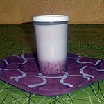 recette yaourt a la  confiture de framboises