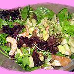 recette Salade de pomélos à la californienne