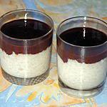 recette Riz au lait vanillé et crémeux au chocolat