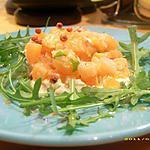 recette tartare saumon fumé-thon