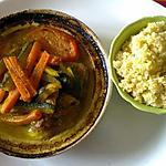 recette Tajine d'agneau aux petits légumes