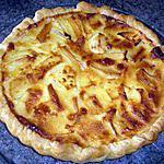 recette Tarte aux pommes/lait concentré