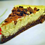 recette Cheesecake crémeux spéculoos et pépites de chocolat