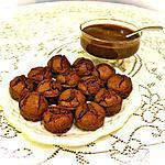 recette DIABLOTINS CHOCOLAT GINGEMBRE .
