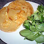 recette Mini-crêpes au camembert
