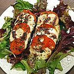 recette Brushchetta tomate mozzarella