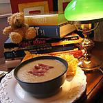 recette Crème aux oignons de Roscoff et piment d'Espelette