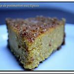 recette ** Le potimarron en version sucrée : Un Cheesecake curcubitacé aux épices **