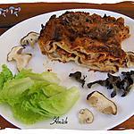 recette Lasagnes aux champignons forestiers
