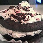 recette cupcakes mystere et son nuage de chantilly