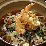 recette Tempura Udon (Nouilles et Beignets Japonais)