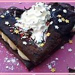 recette CREPE AU CHOCOLAT SANS FARINE
