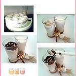 recette Yaourt maison aux bananes et nutella