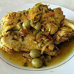 recette poulet au olives