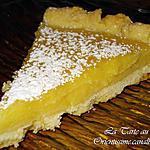 recette La Tarte au citron: DELICIEUSE