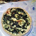 recette Tarte saumon/épinards