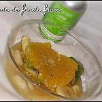 recette Salade de fruits frais au citron vert & vanille