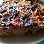 recette QUICHE RICHE !! (Poulet, Bacon, Viande de Grison et Feta)