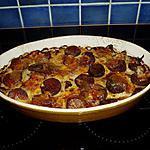 recette gratin de pommes de terre a la saucisse de morteau et fromage (du morbier)