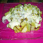 recette pommes de terre roti avec du fromage  fondu (richemont  pot à mettre 2mn au micro onde