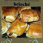 recette pain au chocolat brioché