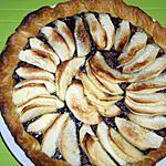 recette Tarte aux pommes et nutella