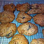 recette Cookies au miel et fruits confits