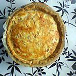 recette Quiche Saumon-Poireaux