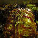 recette Roti de dinde farci lard et fromage (Prépa 10 mns)