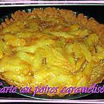 recette Tarte au poires caramélisées