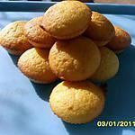 recette Muffins à la pêche