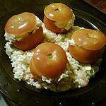 recette Tomate farcie au riz
