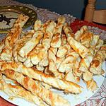 recette Torsade feuilleté aux fromage