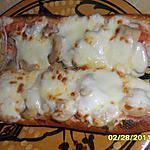 recette Pain pizza