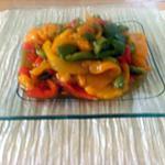 recette Salade chakchouka