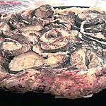 Tatin de courgettes au chevre et pesto