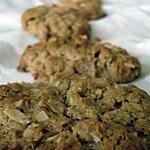 recette cookies aux flocons d'avoine et pâte de sésame