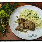 recette Sauté de veau à l'ail et à la ciboulette