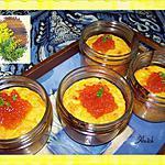 recette Soufflé au potiron et saumon fumé