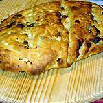 recette Fougasse aux grattons de canard