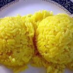 recette Riz au safran