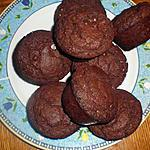 recette muffin chocolat et pépites de chocolats