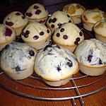 recette muffin aux framboises,pomme,myrtilles........