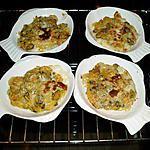 recette timbales de fruit de mer