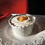 recette Mousse de chocolat blanc à la liqueur de gingembre et gingembre confit