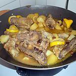 recette poulet aux citrons au wok