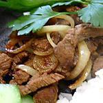 recette Bœuf au citron vert à la Tagalog