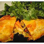recette feuilleté aux légumes et jambon