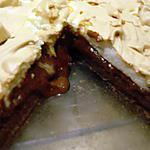 recette Tarte au chocolat meringuée à la vanille (prépa 30 mns)(Plaisir Créatif)
